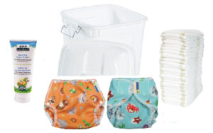 Wonderwear Cloth Diaper Service Deluxe Starter Package