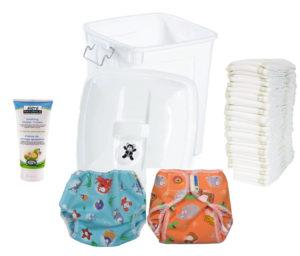Wonderwear Cloth Diaper Service Deluxe Starter Package