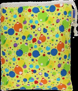 Bubble Trouble Cloth Diaper Travel Wet Bag