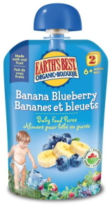 EB Banana Blueberry puree