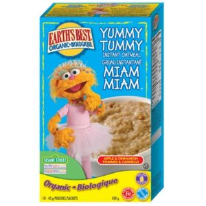 EB Yummy Tummy Oatmeal Apple Cinnamon