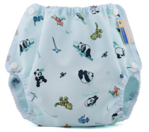 Asia Cloth Diaper Cover with Snap Closures