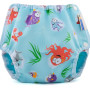 Mother-ease Airflow Diaper Cover- Oceans