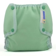 Mother-ease Air-Flow Cloth Diaper Cover- Seafoam Green
