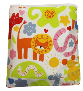 Sunny Safari Cloth Diaper Travel Wet Bag
