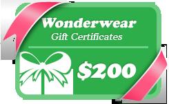 Wonderwear gift certificate - GTA