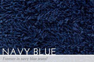 Navy Blue Peapod Mat