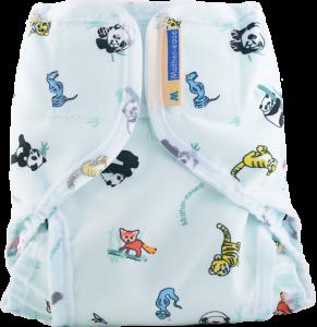Asia Cloth Diaper Cover with Velcro Closure