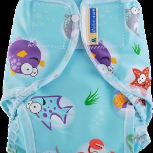 Mother-ease Rikki Diaper Cover- Oceans