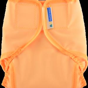 Mother-ease Rikki Diaper Cover- Sunset Orange