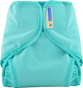 Teal Cloth Diaper Cover with Velcro Closure