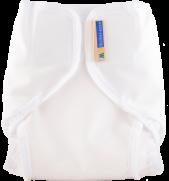 Mother-ease Rikki Diaper Cover- White