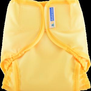 Mother-ease Rikki Diaper Cover- Sunshine Yellow