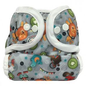 Bummis Duo-Brite Adjustable Size Diaper Cover- Circus