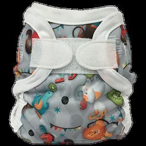 Bummis Newborn Diaper Cover (Super Brite)- Circus