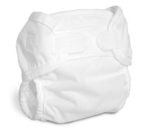 Bummis Newborn Diaper Cover (Super Brite)- White