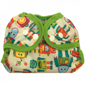 Bummis Simply Lite Adjustable Cover- Vintage Robots