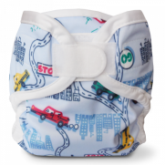 Bummis Super Whisper Wrap VELCRO Diaper Cover- Big City